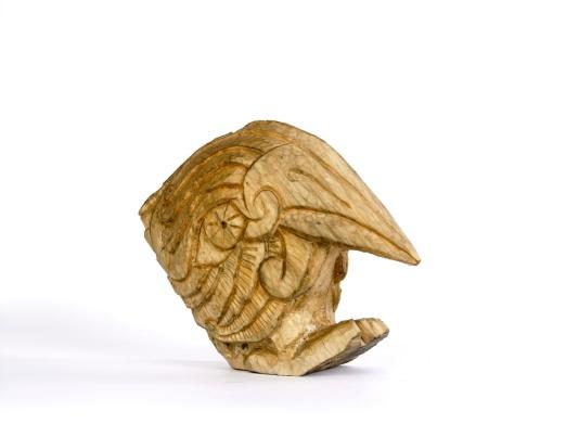 Kingfisher (wilg) ca. 30x25x10cm