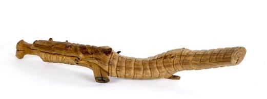 Mummified (pruimelaar) ca. 95x30x15cm