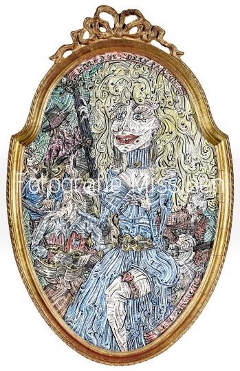 Dolly Parton 36x57cm