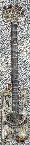 Guitare 17x76cm