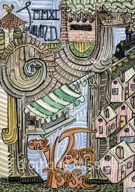 one Horse Town. The Dubrovniks. Een uitdrukking die veel voorkomt in country- en bluesmuziek, waarmee men een klein, landelijk, oninteressant gat bedoelt.