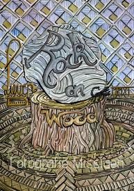 Rock on Wood. Gegroeid uit 'Knock on wood'. In 1966 geschreven door Eddie Floyd samen met Steve Cropper, in de Stax Records periode. Eddie Floyd was de originele performer, maar dit nummer werd ontelbare keren gecoverd o.a. David Bowie. In 1979 had Amii Stewart er opnieuw een wereldhit mee