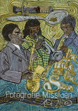 "the Needle and the Spoon & the Blowers. "" Charlie Parker, Miles Davis en John Coltrane: 3 grote blazers, 3 zware heroïneverslaafden"